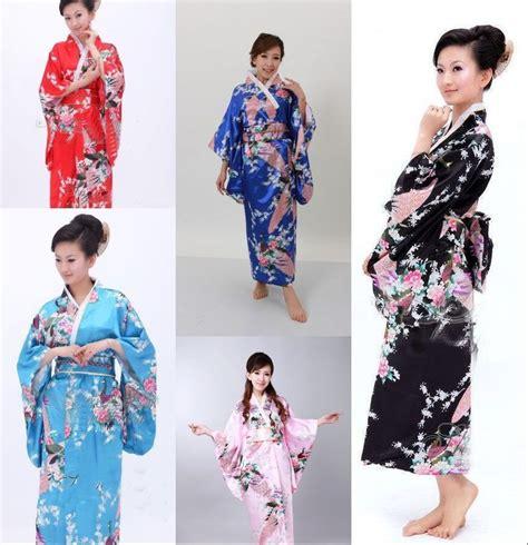 Kimono Outher retro kimono japanese yukata kimono obi robe