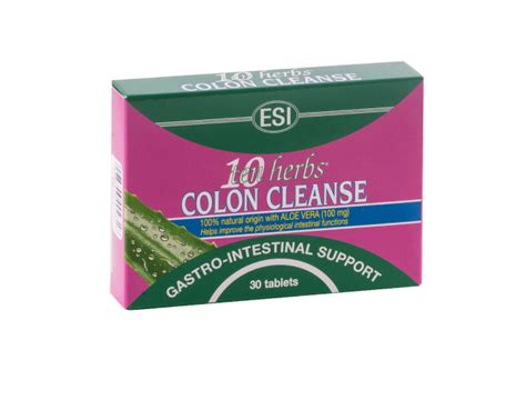 Liver Detox Products South Africa by Colon Cleanse Ten Herbs 30 Tabs Esi South Africa
