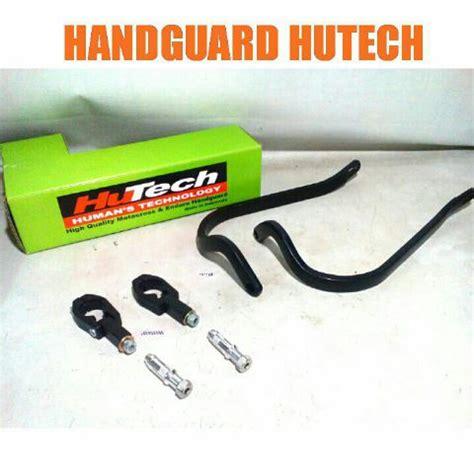 Handguard Dirtpower Hitam handguard merk hutech untuk semua motor trail rp 250 000 bahan almunium