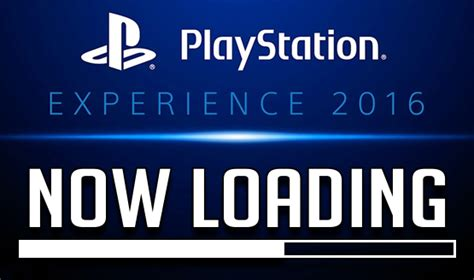 Now Loading now loading playstation experience 2016 predictions