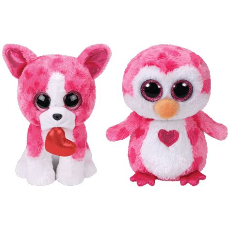 ty beanie boos set   valentines  releases