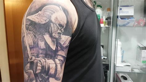 samurai tattoo black and grey 37 ronin samurai tattoo realistic black and grey youtube