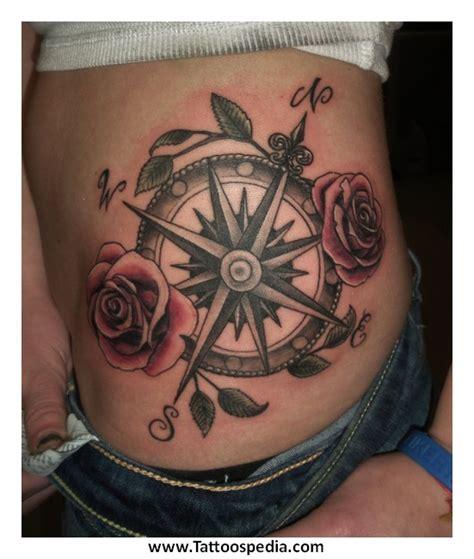 compass tattoo hip compass hip tattoo 1
