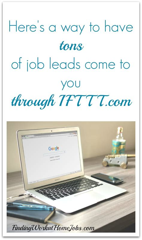 let ifttt automate your search