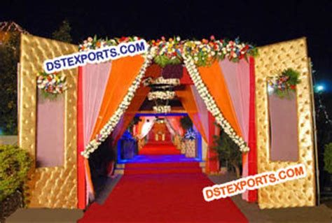 Wedding Gate Banner by Indian Wedding Welcome Gate