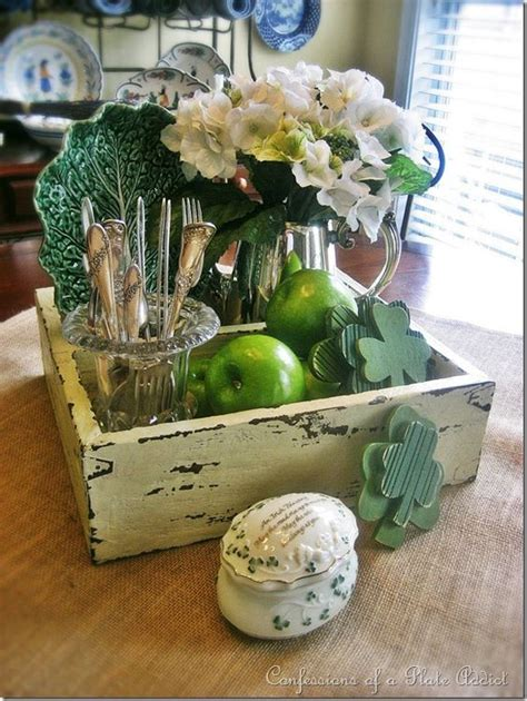 st patricks day table decor inspirations home