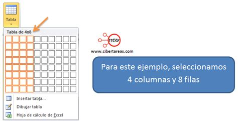 insertar imagenes tabla html insertar una tabla en powerpoint 2010 cibertareas