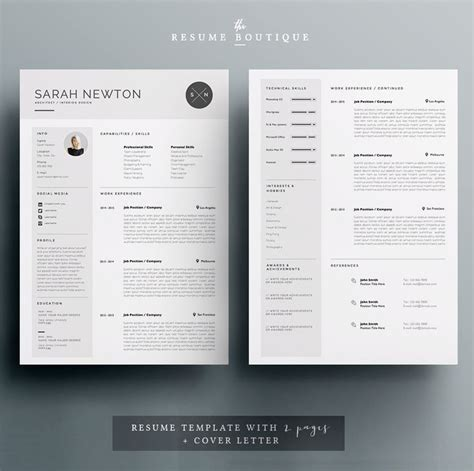 Resume Template 3 Page Moonlight by 17 Best Ideas About Fashion Cv On Cv Design