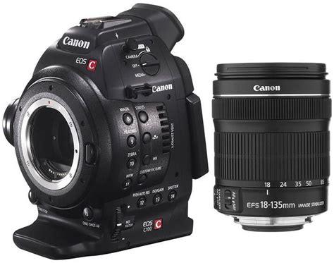Kamera Canon Eos C100 v 225 s 225 rl 225 s canon eos c100 18 135mm kamera 193 rak akci 243 s