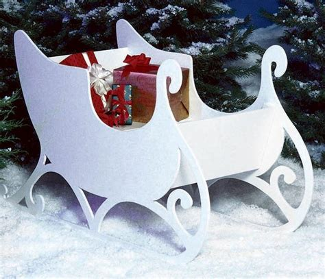 sleigh large format paper woodworking planoutdoor