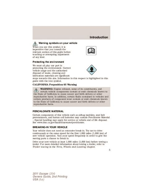best car repair manuals 2011 ford escape electronic throttle control 2011 ford escape owners manual