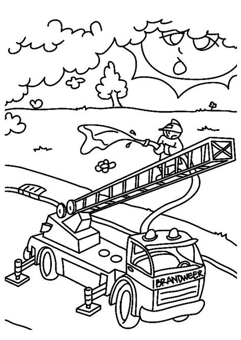 firefighter coloring pages kindergarten 30 firefighter coloring pages coloringstar