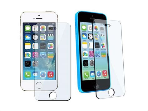 Temperedglass Iphone 5 eforcity tempered glass screen protector compatible with
