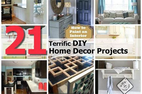 diy new home projects 21 terrific diy home decor projects