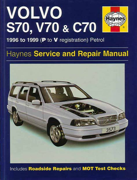 1998 volvo s70 workshop manuals shop manual service repair book s70 v70 c70 volvo haynes