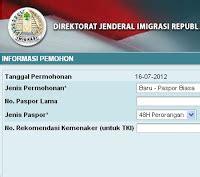 pembuatan paspor online tasikmalaya pendaftaran paspor online biro jasa paspor jakarta