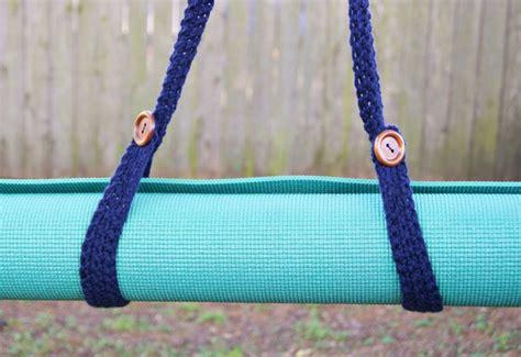 pattern for yoga mat strap crochet yoga mat strap maker crate