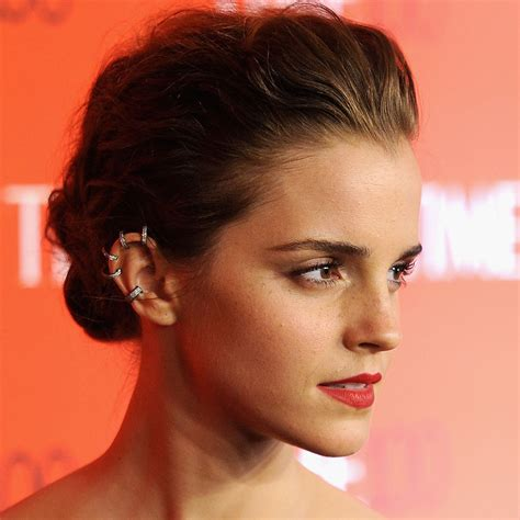 emma watson ear piercing maria tash reveals the best piercing after care tips how