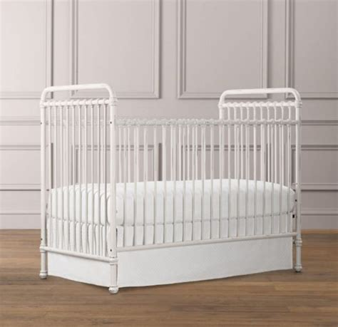 Restoration Hardware Iron Crib by White Iron Crib From Restoration Hardware Baby Fever