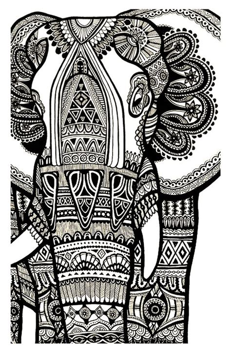 elephant mandala coloring pages printable coloring elephant te print for free mandala coloring page
