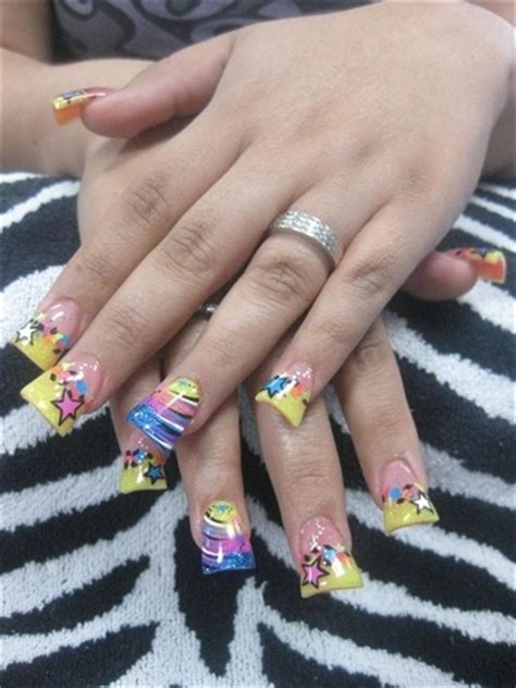 Which Was The Worst Of The Out Trends On Project Runway Last by Is This The Worst Nail Trend
