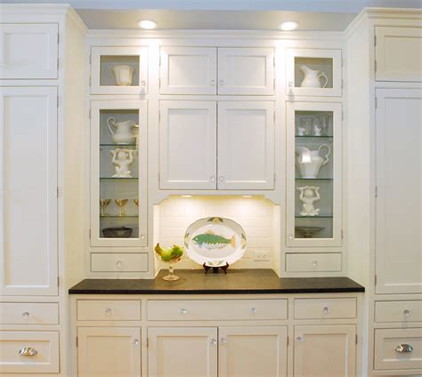 Kitchen Cabinet With Glass Doors Custom Cabinetry Project Gallery Plain Fancy Cabinetry Plainfancycabinetry