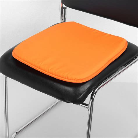 Dining Chair Seat Cushion Kitchen Dining Home Garden Office Chair Seat Pads Cushion With Tie 37x37x2cm Ebay