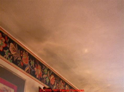 Dark Ceiling Stains: How to Recognize & Diagnose Thermal