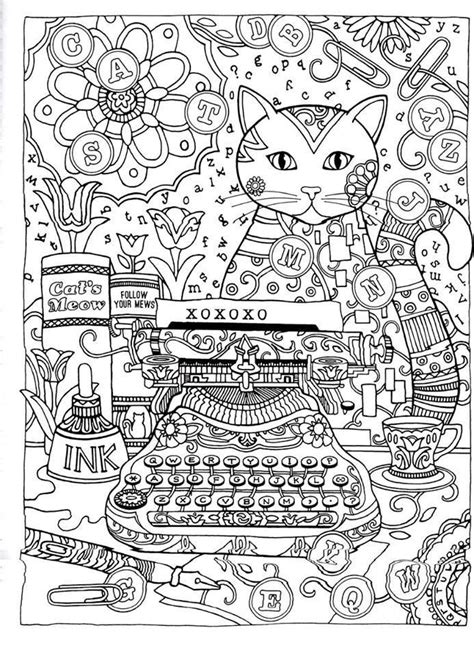 simply creative coloring book for adults books 106 b 228 sta bilderna om coloring pages cats p 229