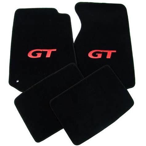 Mustang Gt Floor Mats mustang floor mats w gt logo black 94 04