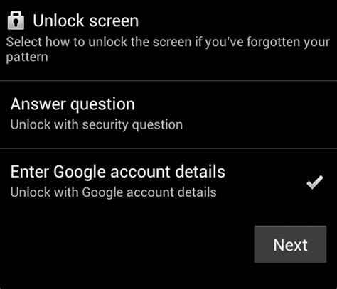 how to unlock android phone with account how to unlock an android phone tablet pc advisor