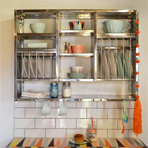 kitchen cabinet plate storage mighty stainless steel plate rack by the plate rack