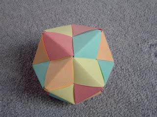 Modular Origami Octahedron - peublog t 233 cnicas con papel sonobe