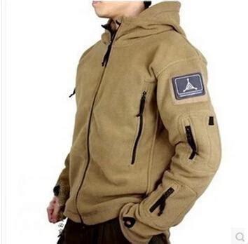Impor Jaket Army Tad Gear Tactical Brown ranger jacket tad fleece polartec outdoor tactical jacket thermal breathable