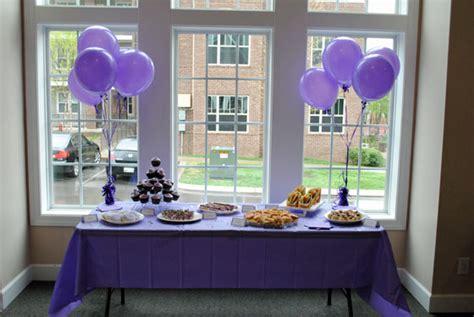 purple themed wedding shower ideas lavender purple bridal shower