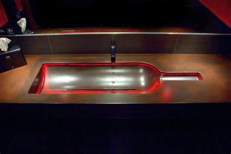 Led Concrete Countertops by G M Concrete Commercial Concrete Countertops