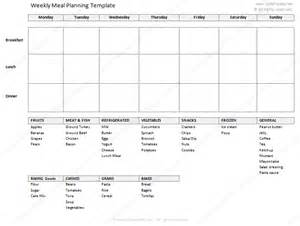 monthly meal planner template with grocery list free printable shopping list templates