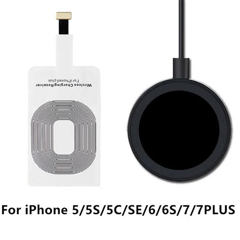 Charger Iphone 5 6 6s 6 7 7 8 8 Ori Original 100 100 Chargeran for apple iphone 5 5s 5c se 6 6s 7 plus qi wireless charger wireless charging receiver