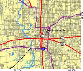 Indianapolis In Zip Code Map by Zip Code Indianapolis Indiana Map