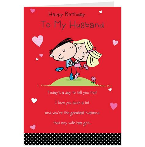 printable birthday cards for a wife free printable birthday cards for husband template