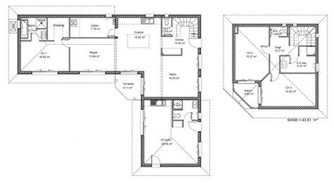 Plan Maison 200m2 4278 by Plan Maison 200m2 Plan Maison Plain Pied 200m2