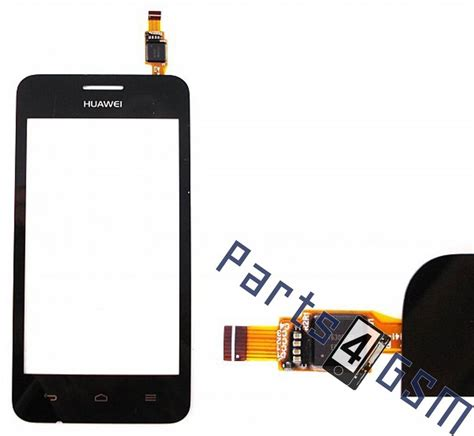 touchscreen ts huawei y330 huawei ascend y330 touchscreen display black parts4gsm