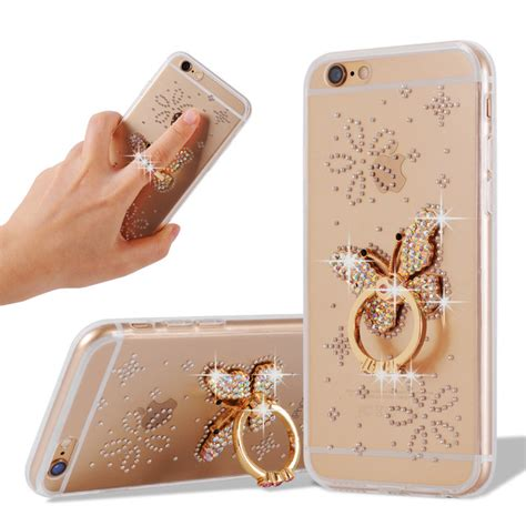 iphone 6 6s animal ring for iphone 6 acrylic diamonds ring for iphone 6s