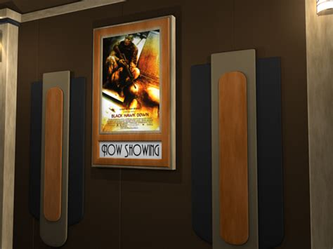 37 X 25 Poster Frame by Suede Home Theater Poster Frame