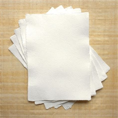 How To Make Hemp Paper - hemp paper 125 gsm 5 83x8 27 quot white deckle 5