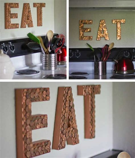 diy home decor ideas the grant life c 243 mo hacer letras luminosas con monedas para decorar la casa