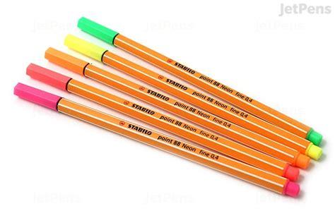 Zebra Penciltic Fineliner 0 4 stabilo point 88 fineliner marker pen 0 4 mm neon pink