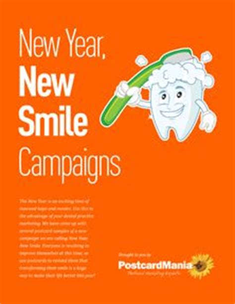 new year marketing ideas smile dental marketing and new year s on