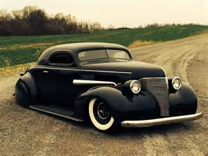 custom 39 chevy with a rod treatment