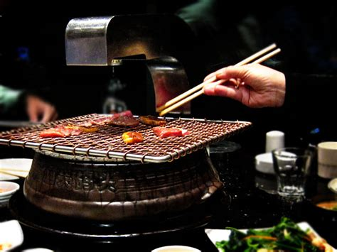 korean bbq table tops they change the metal grill